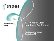 2013 Credit Suisse Healthcare Conference