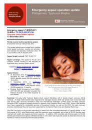 Typhoon Bopha - International Federation of Red Cross and Red ...
