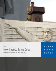 New Castro Same Cuba.pdf - Human Rights Watch