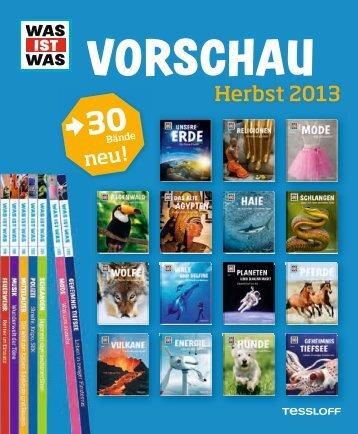Tessloff Verlag Vorschau