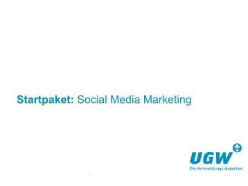 Startpaket: Social Media Marketing - HEA