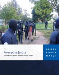 Download this Report with Cover - Human Rights Watch