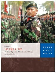 1.9 Mb, 144 pages - Human Rights Watch
