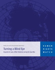 Download the report - Human Rights Watch
