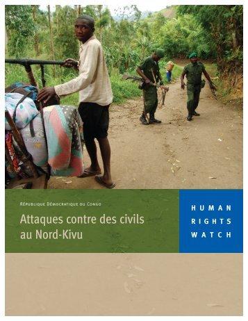 Télécharger le rapport avec couverture - Human Rights Watch