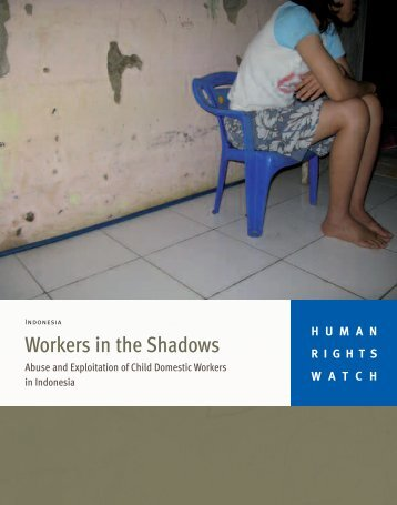 Workers in the Shadows - Human Rights Watch