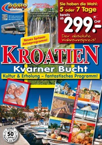Kroatien - Domo Reisen