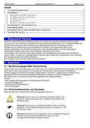 Bedienungsanleitung Präzisionsthermometer