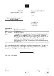 7615/13 - Öffentliches Register der Ratsdokumente - Europa