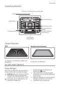 Gebrauchsanweisung Electrolux Einbau Backofen ... - Elektroshop24 - Page 5