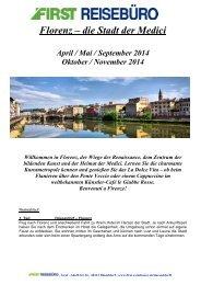 Florenz – die Stadt der Medici