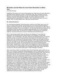 Bill Gates und die Allianz für eine Grüne Revolution ... - Globe Spotting