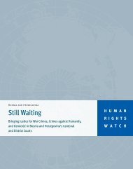 Still Waiting - Human Rights Watch