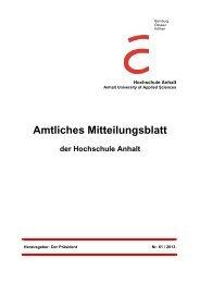 AM Heft61 - Hochschule Anhalt