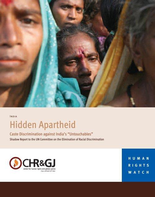 Hidden Apartheid - CHRGJ