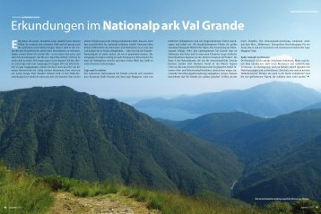 Nationalpark Val Grande