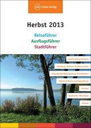 Vorschau Herbst 2013 - via reise verlag