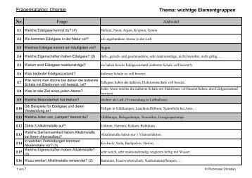 02 Wichtige Elementgruppen mit Antworten