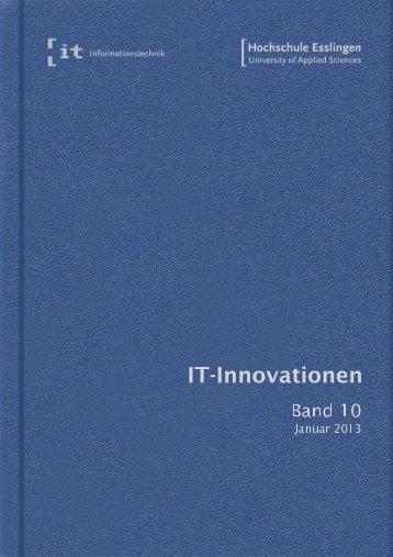 it-Innovationen Wintersemester 2012/13 Band 10 - Hochschule ...