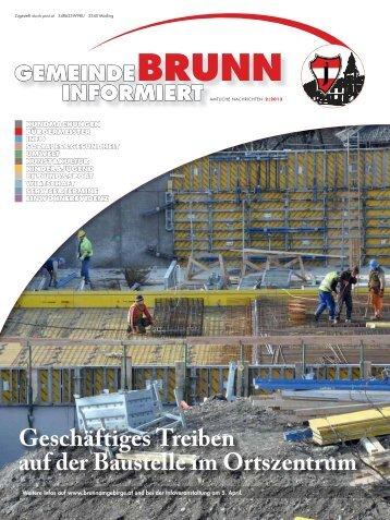 Gemeindezeitung 2/2013 - Brunn am Gebirge