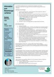 Executive MBA Zulassungsantrag - Hochschule Furtwangen