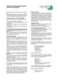 Merkblatt zum Zulassungsantrag - Hochschule Furtwangen