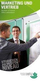 MARKETING UND VERTRIEB - Hochschule Furtwangen