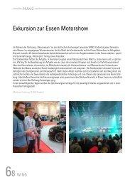 Exkursion zur Essen Motorshow - Hochschule Furtwangen