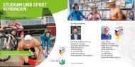 Spitzensport Flyer - Hochschule Furtwangen