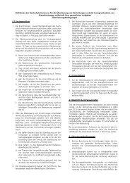 Anlage 1 Richtlinien der Hochschule Hannover für die Überlassung ...