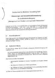 Hochschule für öffentliche Verwaltung Kehl - Hochschule Kehl