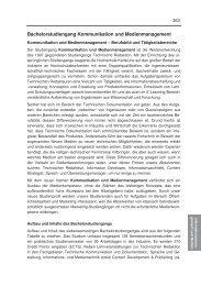 kommentiertes Vorlesungsverzeichnis - Hochschule Karlsruhe ...