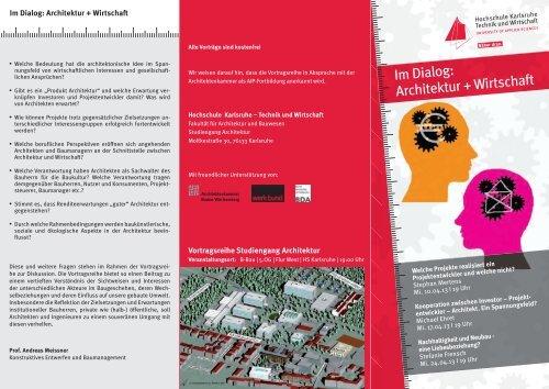 Flyer - Hochschule Karlsruhe – Technik und Wirtschaft