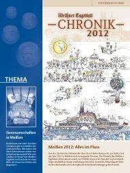 Meißner Tageblatt Chronik 2012