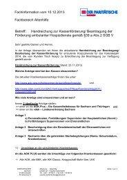 1. Fachinformation amb. Hospizdienste - parisax.de