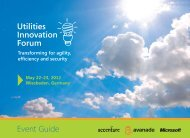 Utilities Innovation Forum - Accenture