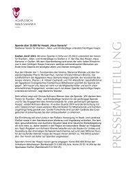 Kopie von 2013_07_04 PM Spende Verein an ... - Agaplesion.de