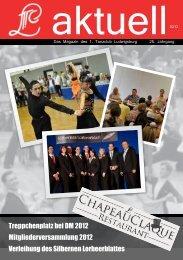 TCL Aktuell, Ausgabe 2/2012 - 1. Tanzclub Ludwigsburg