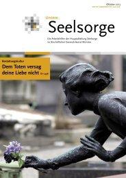 Cover Seelsorge Bestattung 2013.indd - Bistum Münster