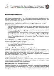 Familienhospizkarenz 2014 - unmarkiert - gehaltskasse.at
