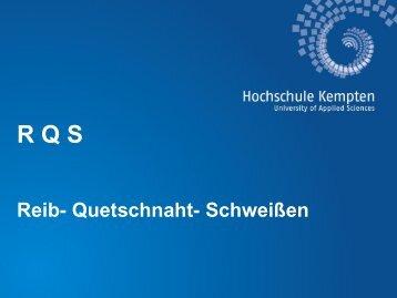 PDF-Datei - Hochschule Kempten