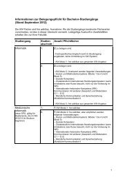 Informationen zur Belegungspflicht für Bachelor-Studiengänge ...