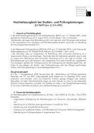 Professioneller Brief - Hochschule Regensburg
