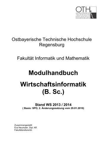 alte SPO - Hochschule Regensburg