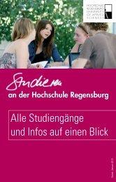 Studieren an der Hochschule Regensburg