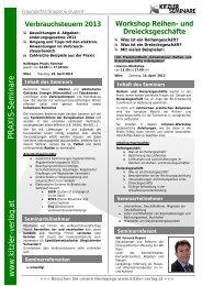 Verbrauchsteuern 2013 - Kitzler Verlag