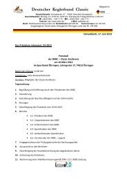 Protokoll der Classic-Konferenz (Praesidium_Info_03_2013 ... - DKBC