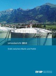 Jahresbericht 2012 - Erdöl-Vereinigung