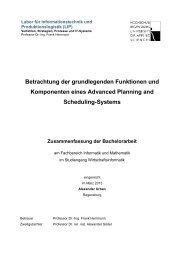 Betrachtung der grundlegenden Funktionen und Komponenten ...