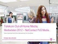 Folie 1 - Out of Home Media - Telekom